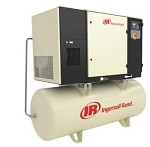 UP6-5TAS Rotary Screw Air Compressor - 5HP - 200V/Single Phase -  125 PSI - 80 Gallon